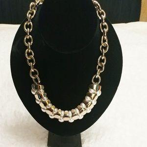St. John Pearl Necklace/Bracelet Set
